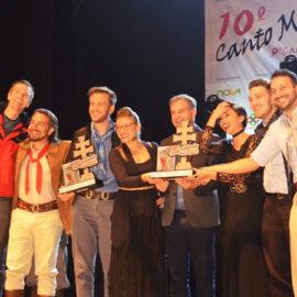 Vencedores do 10º Canto Missioneiro